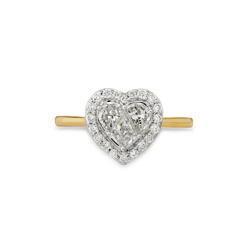 Treasure Chest Diamond Ring