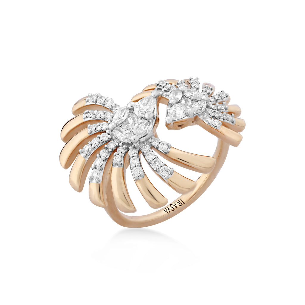 Skyward Bound Roost Diamond Ring