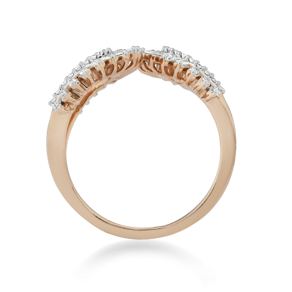Scatter Waltz Eyelet Diamond Ring