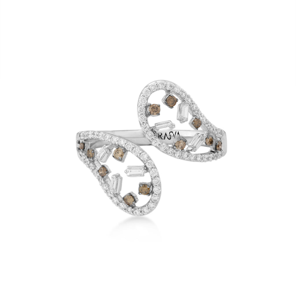 Scatter Waltz Stagger Diamond Ring