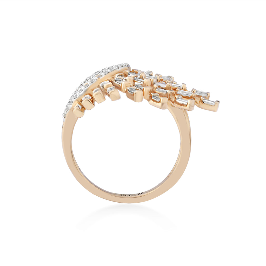 Scatter Waltz Spurt Diamond Ring