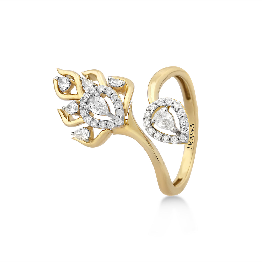 Skyward Bound Trailblazer Diamond Ring