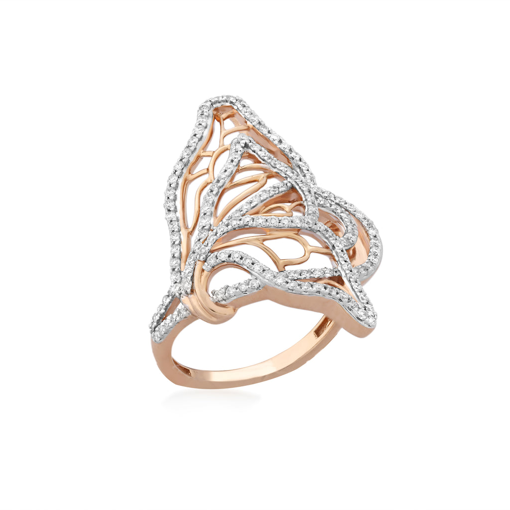 Skyward Bound Majestic Diamond Ring