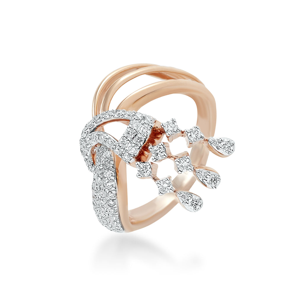 Freeflowing Nerina Diamond Ring*