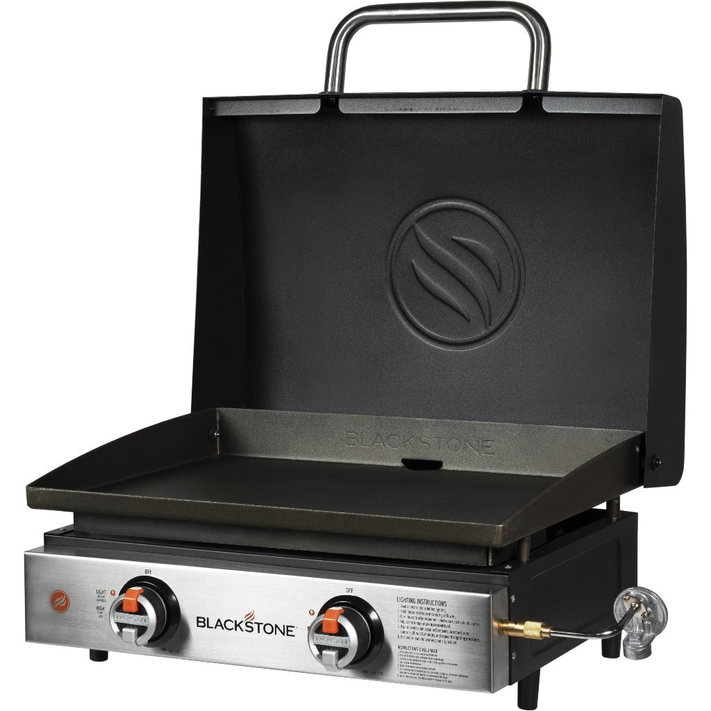 "22"" Tabletop Griddle with Hood"