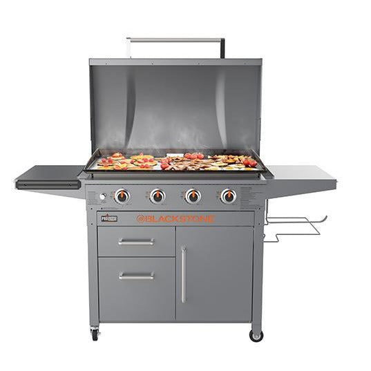 Blackstone 36 Inch Pro Series Griddle Solid Steel Outdoor Griddle Blackstone Products