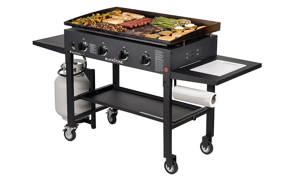36 Griddle Cooking Station With Accessory Side Shelf Blackstone Products