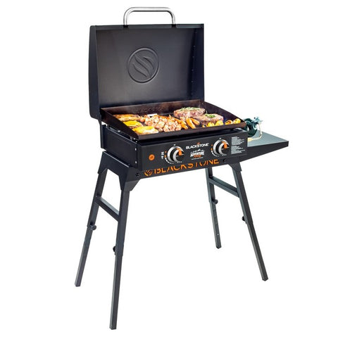 "22"" Tabletop Griddle with Hood & Stand"