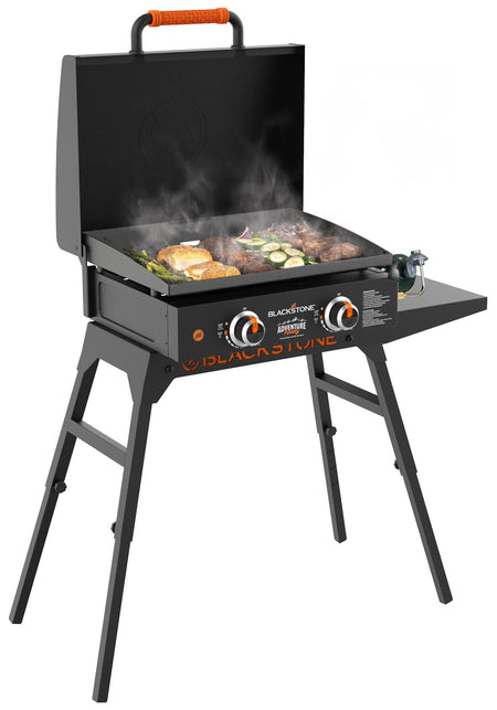 "Adventure Ready 22"" Griddle with Hood and Stand"