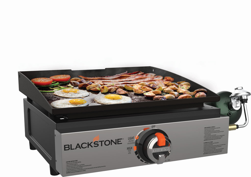 "17"" Tabletop Griddle with Stainless Steel Front"