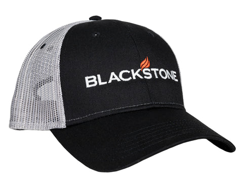 Blackstone Black & Gray Mesh Hat