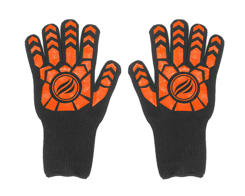 Knit Griddle Gloves with Silicone Grip
