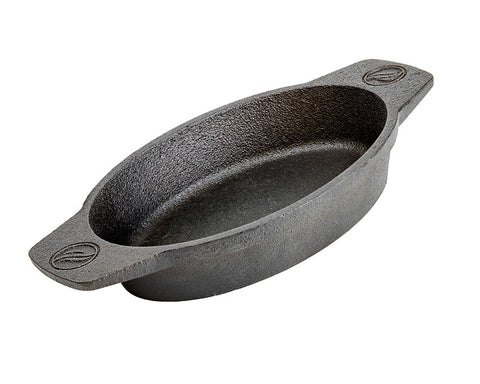 Oval Griddle Dish (Cast Iron)