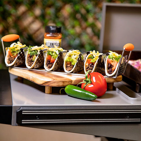 2 Pack Stainless Steel Taco Rack