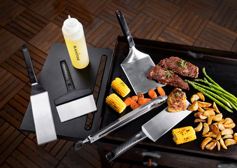 6 Piece Deluxe Griddle Kit