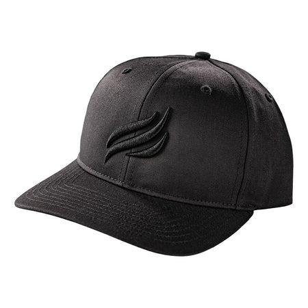 Blackstone Black Puff Embroidered Hat