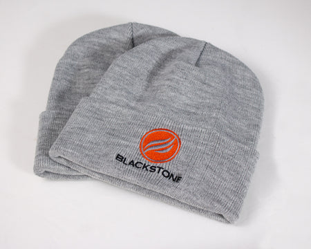Circle Flame Grey Beanie