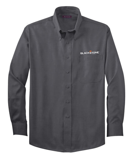 Charcoal Grey Button-up Shirt