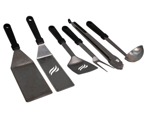6-Piece Classic Outdoor Cooking Set (with XL Handles)