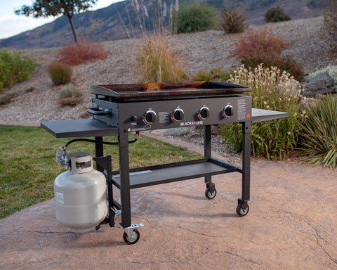 36'' Griddle Cooking Station in Classic Black