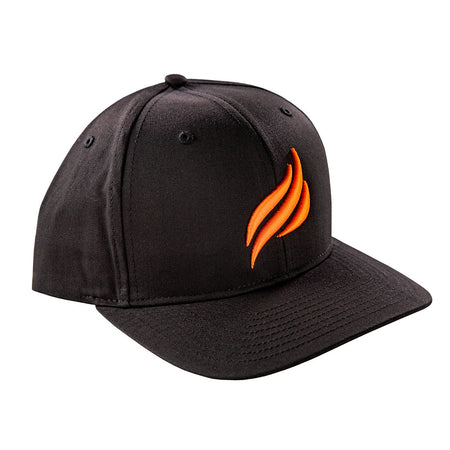 Blackstone Orange Puff Embroidered Flame Hat