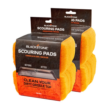 2 Pack Scouring Pads (20 Scouring Pads)