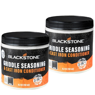 2 Pack Cast Iron Seasoning and Conditioner