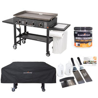 "36"" Griddle with Accessory Side Shelf Bundle"