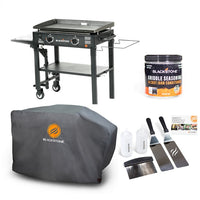 "28"" Griddle with Accessory Side Shelf Bundle"