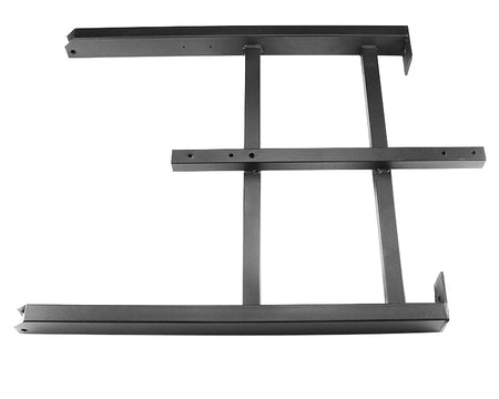 "36"" Left Leg Set WITH Propane Bar (Black)"