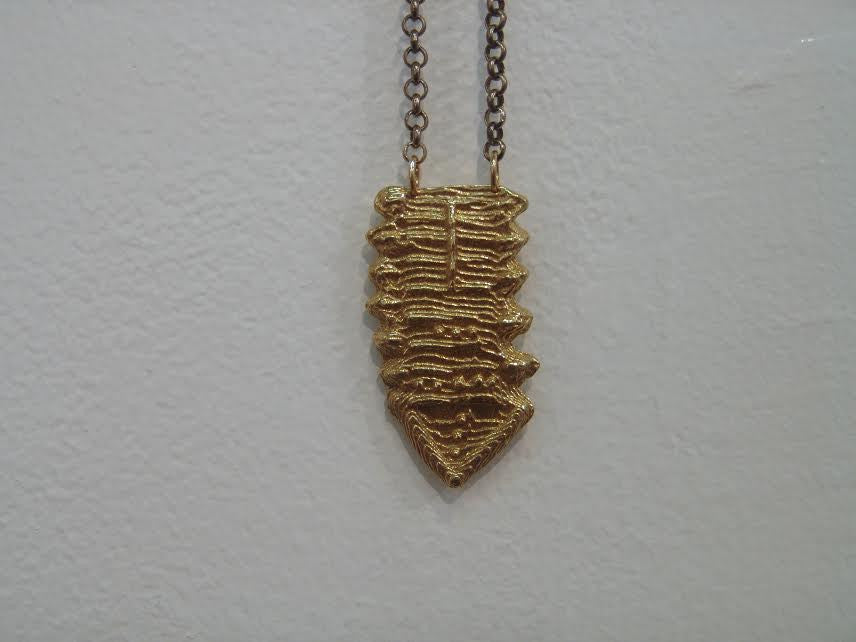 Amulet Cuttlefish Necklace