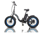 Ecotric Dolphin Fat Tire Folding Electric Bike