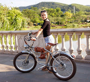Electric bike 500W | Retro Bike Cruiser | Classic Vintage Electric