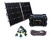 LionEnergy Safari LT 450Wh Portable Solar Generator Kit