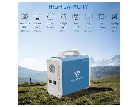 MAXOAK Bluetti EB150 Portable Power Station