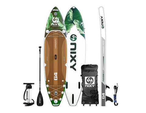 "NIXY Newport G4 - 10'6"" All Around Inflatable Paddleboard"