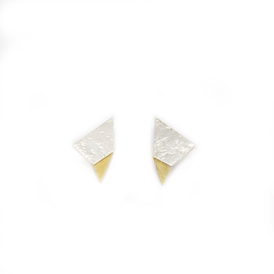 Fold out / triangle earring