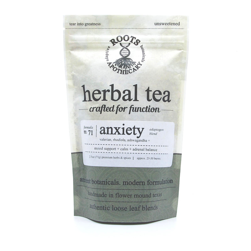 herbal tea anxiety by roots apothecary
