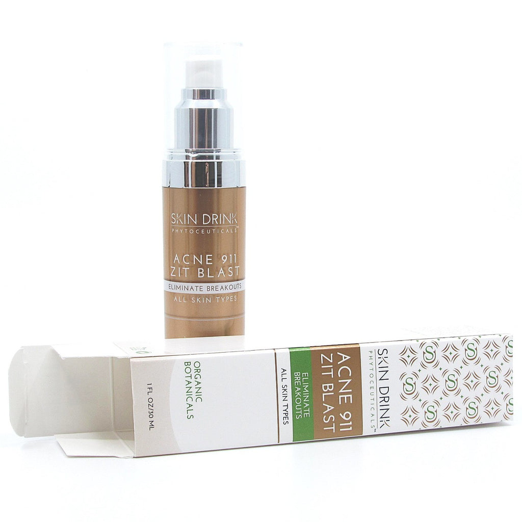 acne 911 zit blast package and bottle