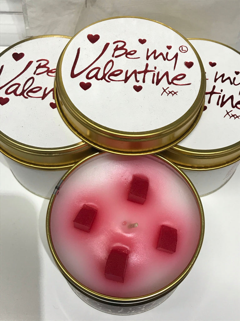 Lily flame scented candle - Be My Valentine