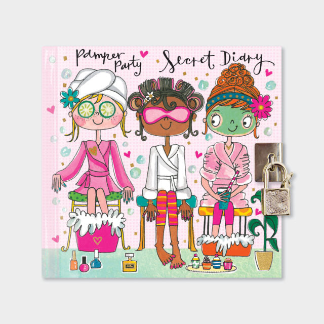 Pamper Party Secret Diary - Rachel Ellen designs
