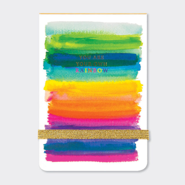 You are your own Rainbow Mini notepad