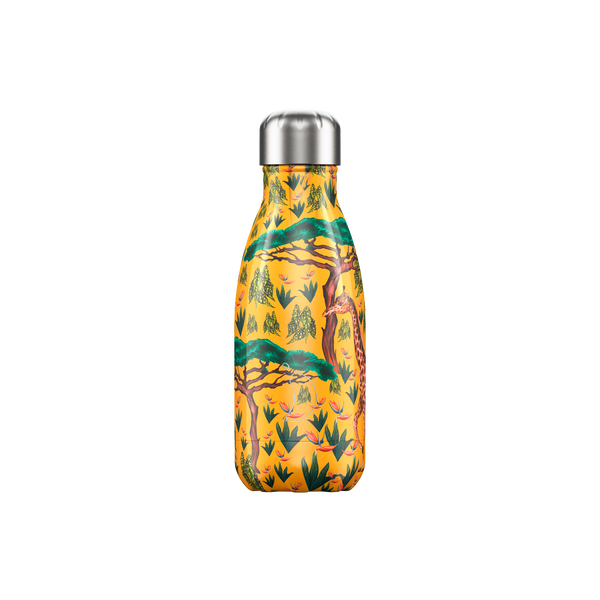 Chilly's Water Bottle - Tropical giraffe 260ml