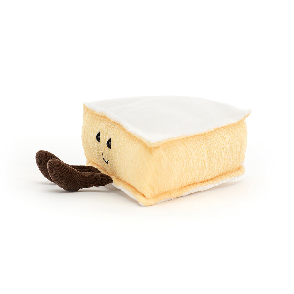 Jellycat Amuseable Brie Cheese