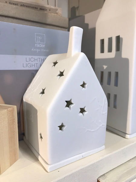 Rader Porcelain light houses - Christmas stars