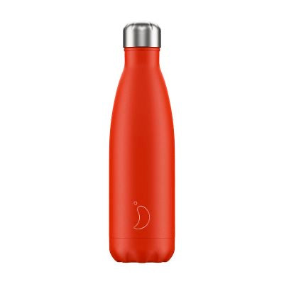 Chilly's Water Bottle - Neon Red