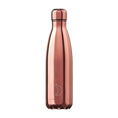 Chillys Water Bottle - Rose gold chrome