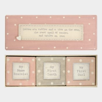 Baby keepsake boxes -trio - East of India
