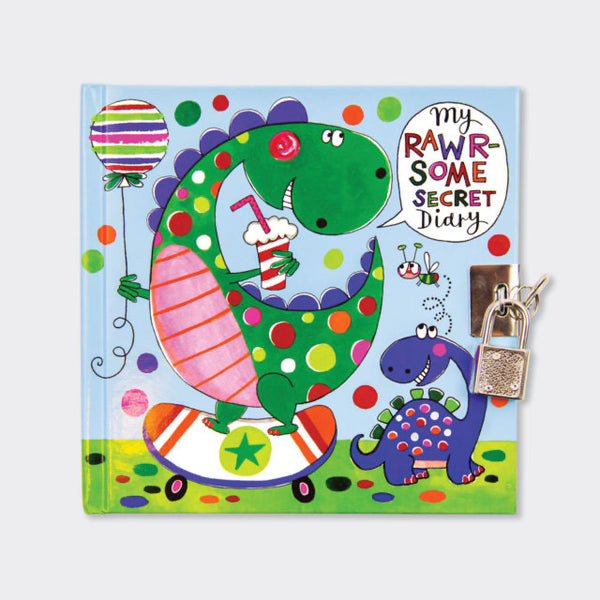 Dinosaur Secret Diary - Rachel Ellen designs