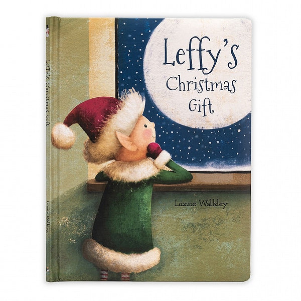 Jellycat - Leffy Christmas Elf book